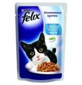 Корм Феликс 100г д/кошек форель с фасолью ИМП – ИМ «Обжора»