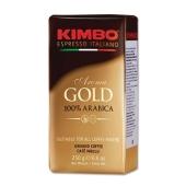 Кава Kimbo Aroma Gold 250г мелена – ІМ «Обжора»
