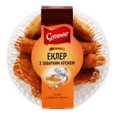 Пирожное Сладков 200г Эклер с творожным кремом – ИМ «Обжора»