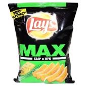 Чипсы Лейс Макс 62г сыр-лук – ИМ «Обжора»