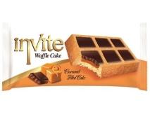 Бисквит Invite waffle cake карамель – ИМ «Обжора»