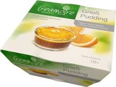 Пудинг манный Кремуар 135гр Шоколадный с апельсиновым соусом – ИМ «Обжора»