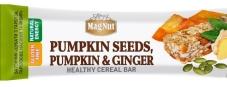 Батончик MagNut, 35 г, цукаты тыквы, тыквенные семечки, имбирь – ИМ «Обжора»