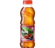 Чай Fuzetea 0,5л чорний зі смаком лісовоі ягоди та гібіскуса – ІМ «Обжора»