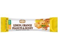 Батончик MagNut, 35 г, цукаты лимона, апельсинов, арахис, мёд – ИМ «Обжора»
