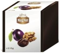 Конфеты MagNut 210г чернослив с орехом в шоколаде – ИМ «Обжора»