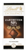 Шоколад Lindt 100г excellence черный 50% – ИМ «Обжора»