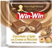 Шоколад WIN-WIN 75г тёмный с ореховым кремом – ИМ «Обжора»