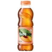 Чай Fuzetea 1,5л чориний зі смаком персика та троянди – ІМ «Обжора»