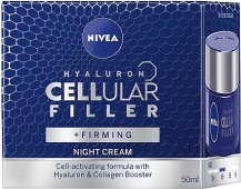 Крем NIVEA cellular hyaluron  ночн. 50 мл – ИМ «Обжора»