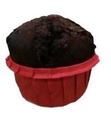 Маффин шоколадный с вишневой начинкой 95г – ИМ «Обжора»