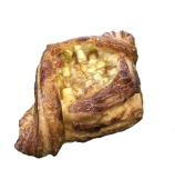 Слойка с яблоком 150г – ИМ «Обжора»
