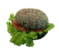 * Гамбургер з лососем НОВИНКА – ИМ «Обжора»