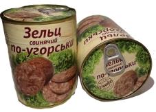 Конс. L`APPETIT 340г Зельц свинной по-венгерски – ИМ «Обжора»