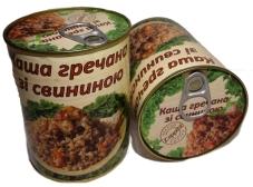 Конс. L`APPETIT 340г Каша гречневая со свининой – ИМ «Обжора»