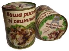 Конс. L`APPETIT 340г Каша рисовая со свининой – ИМ «Обжора»
