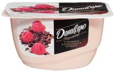 Десерт Данон Даниссимо 3,2% 125г малина-шоколадна крошка – ИМ «Обжора»