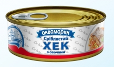 Конс. Аквамарин 230г Хек с овощами ключ Новинка – ИМ «Обжора»