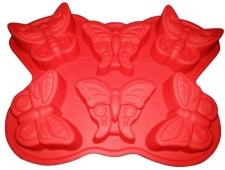 Форма силиконовая Бабочки 23*20.5*4мм(шт) – ИМ «Обжора»