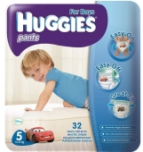 Подгузники HUGGIES PANT трусики-подгузники jumbo 5 д/мал. – ИМ «Обжора»