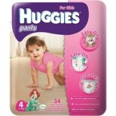 Підгузки HUGGIES PANT трусики-Підгузки jumbo 4 д/дів – ІМ «Обжора»