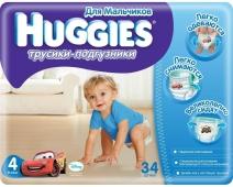 Подгузники HUGGIES PANT трусики-подгузники jumbo 4 д/мал – ИМ «Обжора»