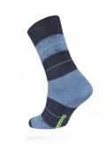 ZZZ Шкарпетки HAPPY 15С-23СП, р,25, 047 темн,син,-блакитний чол, – ІМ «Обжора»
