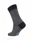 ZZZ Шкарпетки HAPPY 15С-23СП, р,25, 045 чорно-сірий чол, – ІМ «Обжора»