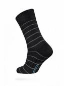 ZZZ Шкарпетки HAPPY 15С-23СП, р,25, 046 чорно-сірий чол, – ІМ «Обжора»