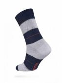 ZZZ Шкарпетки HAPPY 15С-23СП, р,25, 047 джинс-світл,-блакитний чол, – ІМ «Обжора»