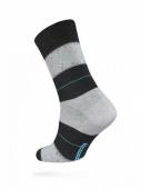 ZZZ Шкарпетки HAPPY 15С-23СП, р,25, 047 чорно-сірий чол, – ІМ «Обжора»