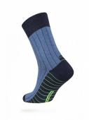 ZZZ Шкарпетки HAPPY 15С-23СП, р,25, 048 темн,син,-блакитний чол, – ІМ «Обжора»