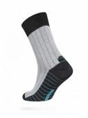 ZZZ Шкарпетки HAPPY 15С-23СП, р,25, 048 чорно-сірий чол, – ІМ «Обжора»