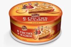 Торт БКК 450 г в Гостях у сказки – ИМ «Обжора»