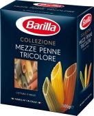 Макароны Барилла 500г Mezze Penne Tricolore – ІМ «Обжора»