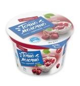Десерт Точно Молочно 5% 180г з джемом вишня ст, Новинка – ИМ «Обжора»