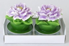 Набор декоративных свечей (2шт) Цветок Q00-205 – ИМ «Обжора»