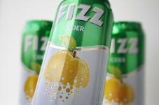 Напиток слабоалкогольный Fizz 0,5л ж/б Яблоко Новинка – ИМ «Обжора»
