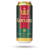 Пиво Ceska Koruna 0,5л ж/б Новинка – ИМ «Обжора»