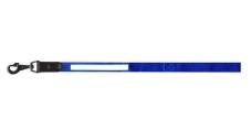 Поводок Dog Extreme нейлон со светоотражающей лентой, синий 14мм – ИМ «Обжора»