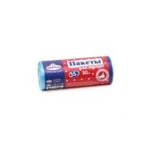 Пакеты Happy house для мусора  35л х 30 шт (голубые) Новинка – ИМ «Обжора»