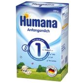 Молочная смесь Хумана -1, вес 600 г к/к – ИМ «Обжора»