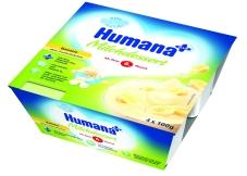 Продукт кисломолочный Хумана 4 х100 г с бананом с 6 месяцев – ИМ «Обжора»