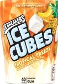 Жвачка Ice Cubes тропический вкус США – ИМ «Обжора»