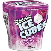 Жвачка Ice Cubes малина США – ИМ «Обжора»
