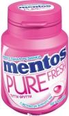 Жевательная резинка Mentos 70г pure fresh фрукты (банка) – ИМ «Обжора»