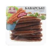 Колбаски Бащинський Баварские 370 г – ИМ «Обжора»
