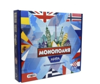 Игра LUX 7007 `Монополия мира`, в коробке 34см-28,8см-5,2см – ИМ «Обжора»
