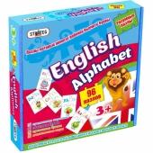 """Пазлы 539 (eng.) Стратег, """"English alphabet"""", в коробке 25-25-5см – ИМ «Обжора»"""