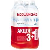 Вода  Моршинська 1,5л без газа 3+1 – ИМ «Обжора»